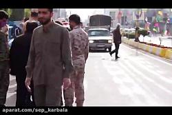 رزمایش دفاع بیولوژیک سپاه شهرستان عباس آباد