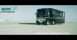 مسابقه فراری با کامیون و پرش کامیون