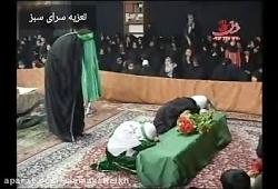 هنرنمایی سیدحسن گلختمی در تعزیه حضرت زهرا  خمینی شهر ۹۵