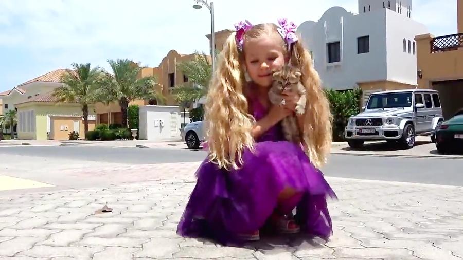 دیانا و روما - پیدا کردن بچه گربه