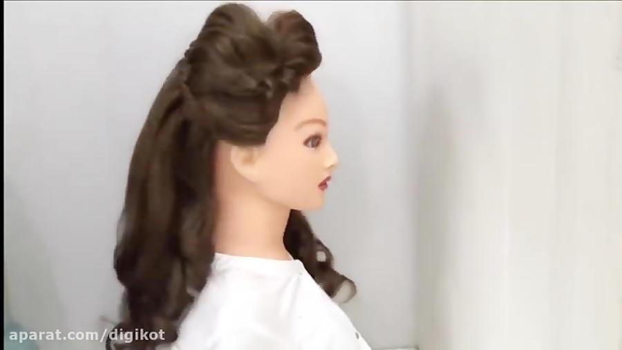 مدل موی دخترانه برای مهمانی