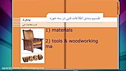 جلسه دوم کسب اطلاعات فنی(پودمان5) دانش فنی تخصصی صنایع چوب