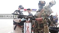 عملیات رزمندگان عراقی ضد نیروهای داعش در صلاح الدین