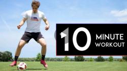 آموزش افزایش سرعت پا در دریبل های حرفه ای فوتبال