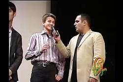 اجرای طنزحسین رفیعی درجشنواره دبیرستان سلام تجریش سال90