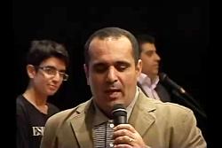 اجرای مسابقه حسین رفیعی جشنواره دبیرستان سلام تجریش 91
