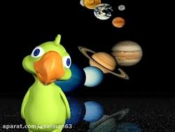 علوم چهارم ابتدایی(سفربه فضا)