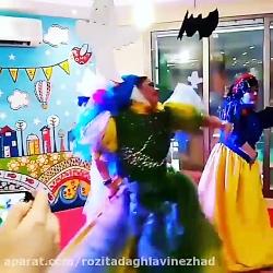 اجرای پرنسسی خاله فرشت...