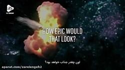 لرزش ترسناک کیهان از برخورد دو سیاهچاله!