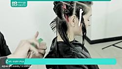آموزش انواع کوتاهی مو   کوتاهی مو زنانه   کوپ ( کوتاهی موی جلوی سر )