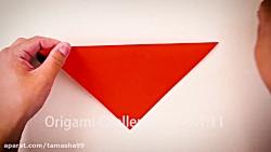 اوریگامی بچه دایناسور   آموزش ساخت بچه دایناسور کاغذی   کاردستی386