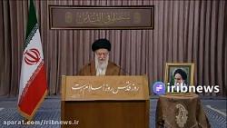سخنرانی حضرت آیت الله خامنهای به مناسبت روز جهانی قدس