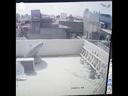 لحظه سقوط هواپیمای ایرباس A320 پاکستان