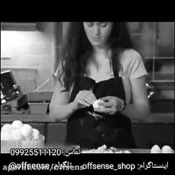 مشخصات، قیمت و خرید تخم مرغ پوست کن | آف سنس