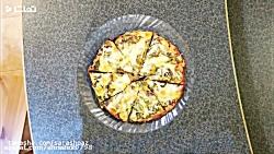 آشپزی / طرز تهیه : پیتزا ...