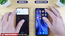 Samsung galaxy a71 vs xiaomi redmi note 9 ...