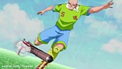 انیمیشن فوتبال رباتی ف...