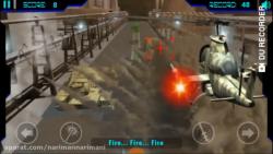 گیم پلی بازی موبایل مبارزه هلیکوپتری کبری 1 (cobra fight 1)