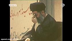لحضات تشییع پیکر امام  -...