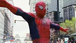 اولین نبرد مرد عنکبوتی با مرد ماسه ای در فیلم مرد عنکبوتی 3