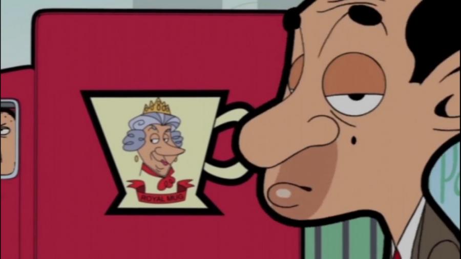 کارتون خنده دار مستر بین - مستر بین و ملکه
