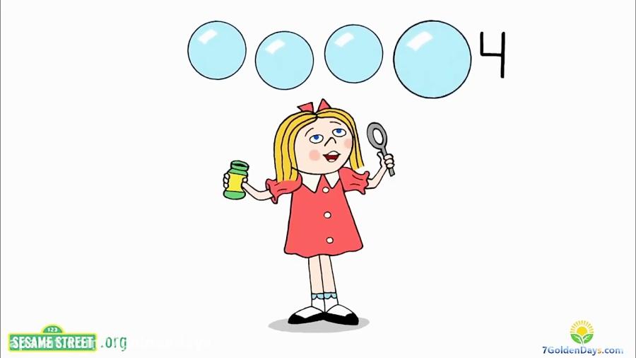آموزش شمارش اعداد به زبان انگلیسی برای کودکان