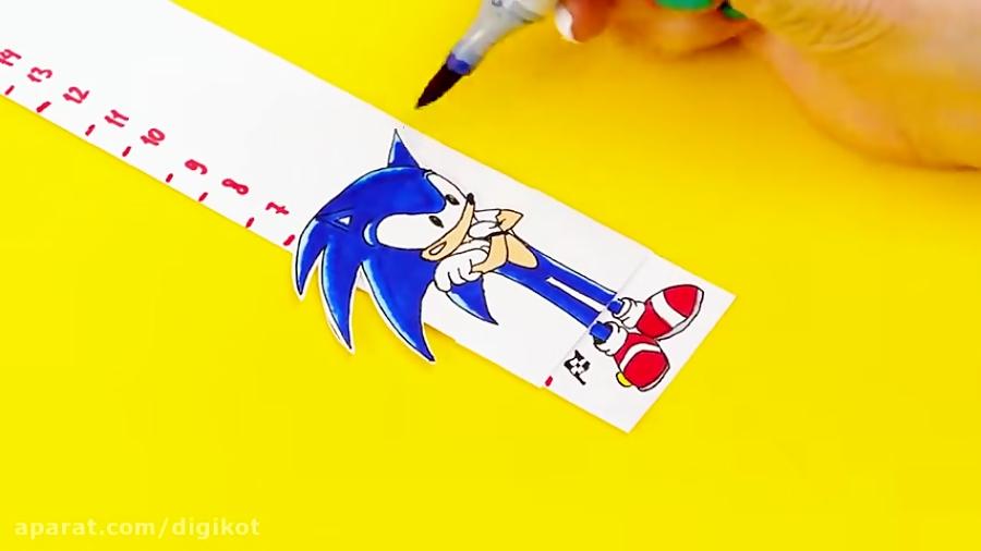 کاردستی های جالب کودکانه با کاغذ و نقاشی برای بازی و سرگرمی