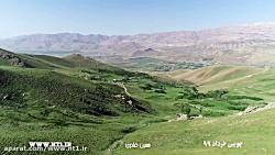 پرواز بر فراز روستای چوبین دهم خرداد 1399