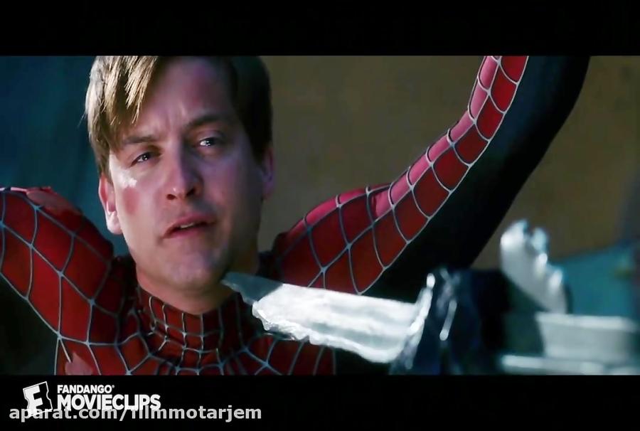 کشته شدن ونوم به دست مرد عنکبوتی در فیلم مرد عنکبوتی 3