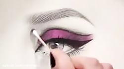 چند ترفند برای رنگ کردن چهره سیاه قلم