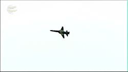 نمایش هوایی (Low Pass) جنگنده ایرانی کوثر