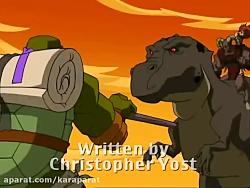 کارتون لاکپشت های نینجا^^فصل4^^قسمت21