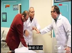 کتک خوردن مهران غفوریان در سریال در حاشیه...