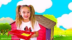 ماجراهای ساشا ، ساشا خانه را رنگ میکند