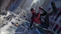 تریلر بازی spider man miles morales اسپایدرمن برای ps5