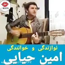 نوازندگی و خوانندگی امین حیایی