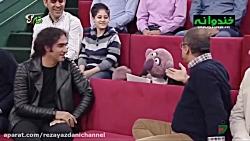 شوخی های جناب خان با رض...