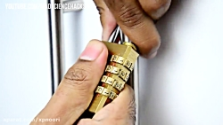 آموزش باز کردن  قفل رمزدار بدون داشتن رمز قفل