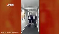دستگیری وحید خزایی در فرودگاه امام خمینی تهران