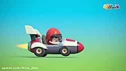 کارتون اودبودز مسابقه ماشین ها انیمیشن