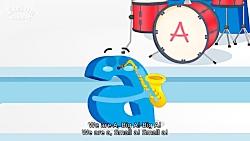 آموزش الفبای انگلیسی ب...