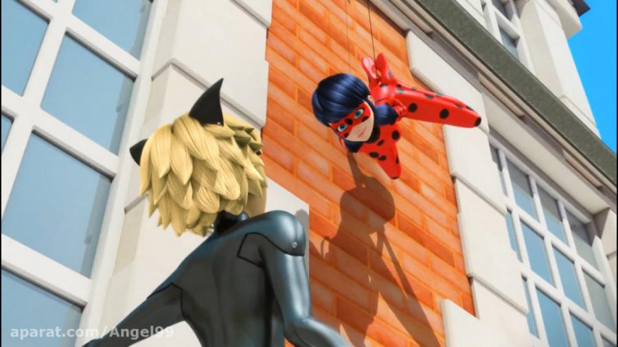 انیمیشن لیدی باگ (دختر کفشدوزکی) و گربه سیاه فصل 1 قسمت 11