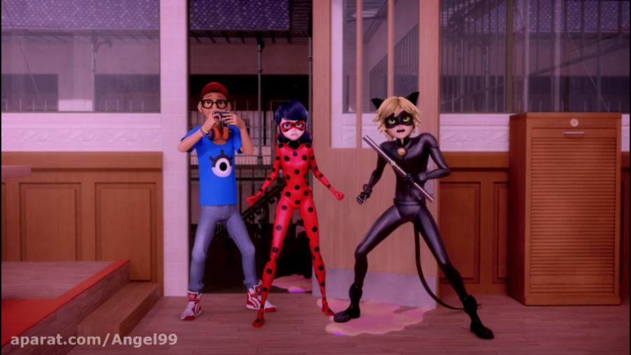 انیمیشن لیدی باگ (دختر کفشدوزکی) و گربه سیاه فصل 1 قسمت 10