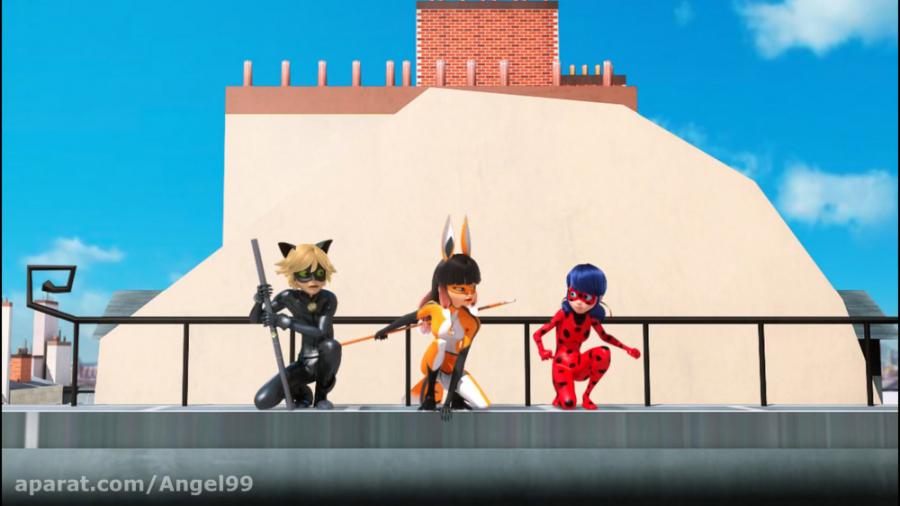 انیمیشن لیدی باگ (دختر کفشدوزکی) و گربه سیاه فصل 1 قسمت 24