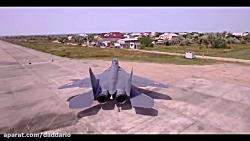 کلیپ زیبا و مهیج از جنگنده چند منظوره میگ 29 ارتش روسیه