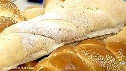 طرز تهیه نان باگت فرانس...