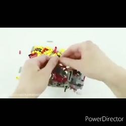 لگو/ساخت لگو لامبرگینی سیان/ شاهکار معرکه و جدید شرکت لگو