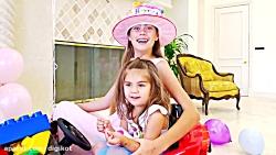 ناستیا و استیسی در جشن تولد میا - ماجراهای استیسی و میا