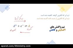 ویدیو آموزش واکنش اکسایش کاهش تعریف عدد اکسایش شیمی دوازدهم