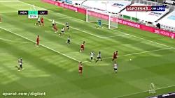 خلاصه بازی نیوکسل 1 - 3 لیورپول